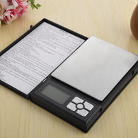 High Precision 500g 0 01g Digital Scale Notebook Shape Electronic Counting Gold Diamond Jewelry Scales Balance