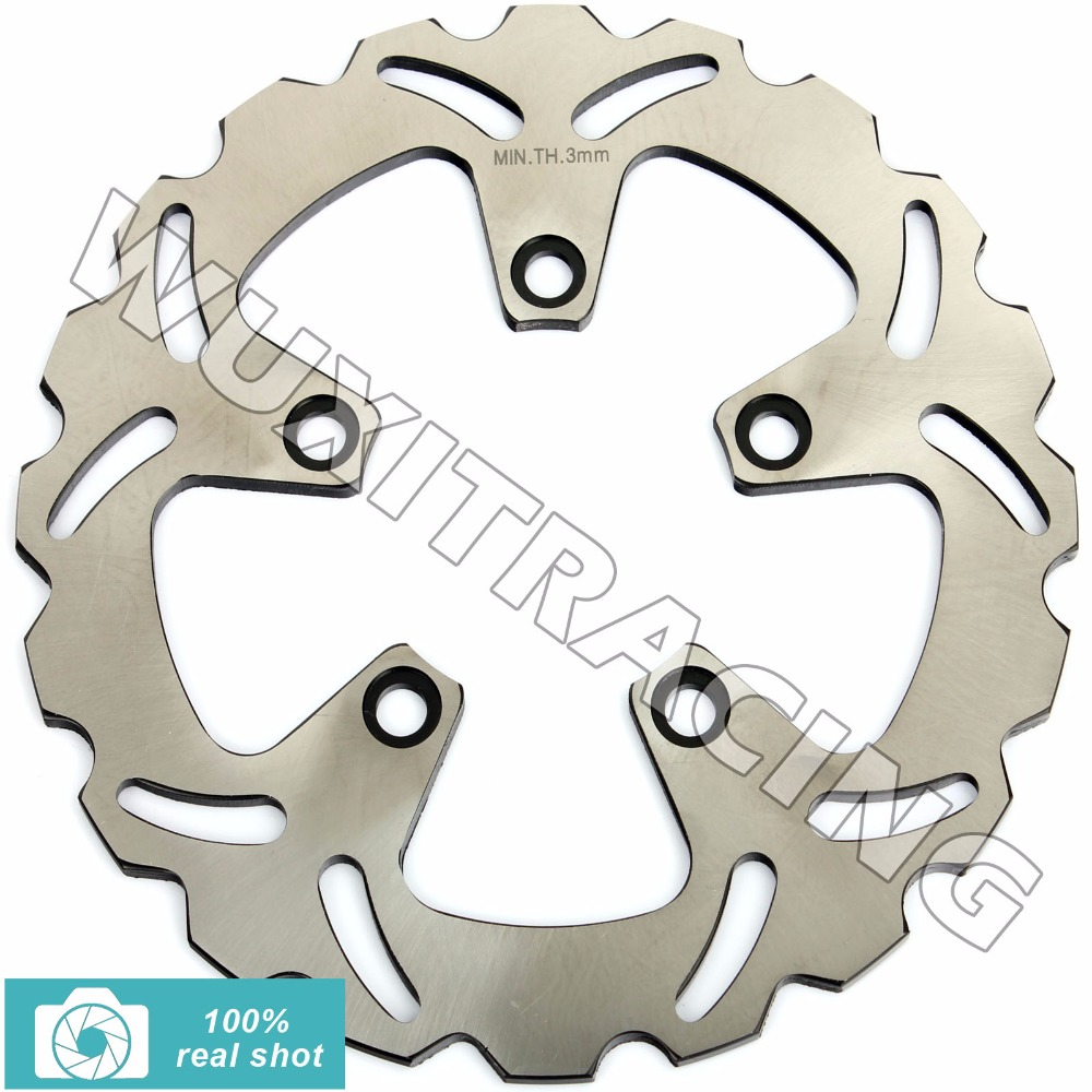 BIKINGBOY Rear Brake Disc Rotor for ZX7R ZX-7R ZX 7R RR NINJA ZXR 750 L R ZX9R ZX-9R ZX 9R GTR1000 GTR 1000 ZEPHYR 1100 86-03 02 fairing bolts full screw kit for kawasaki ninja zx 7r 96 03 zx 7 r zx 7r zx7r 96 1999 2000 2001 2002 2003 5f19 nuts bolt screws