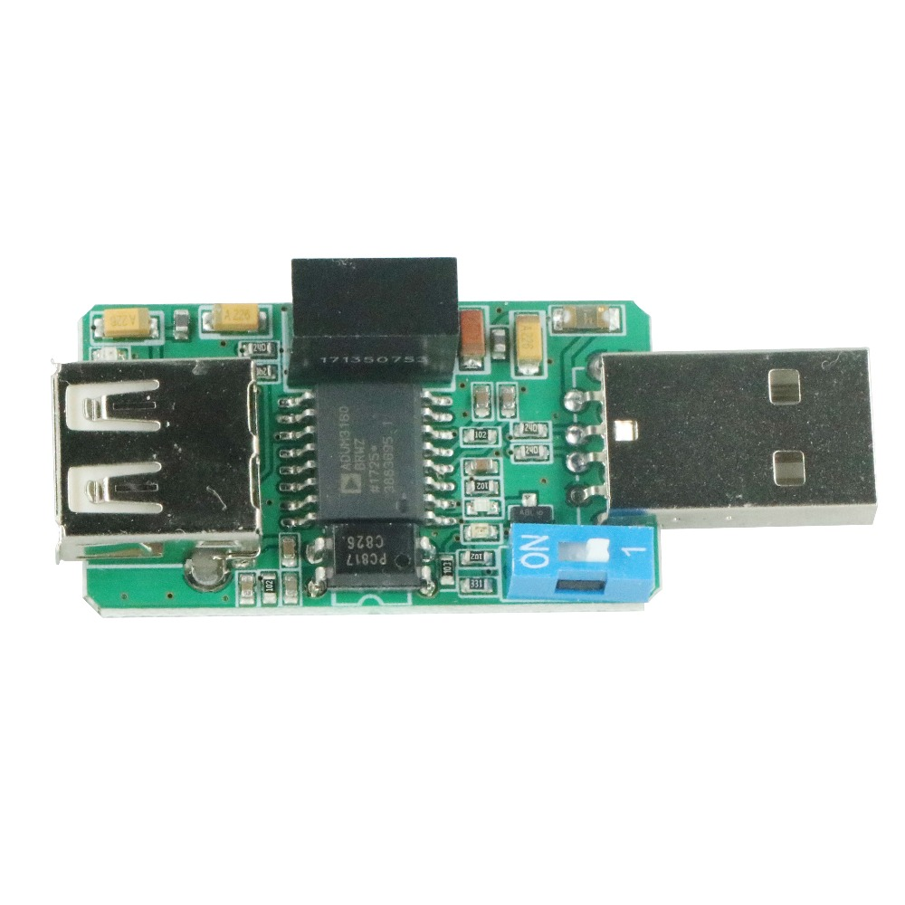 1500V USB to USB Isolator Board Protection Isolation ADUM4160 ADUM3160 Module usb isolation anti interference usb hub adum4160