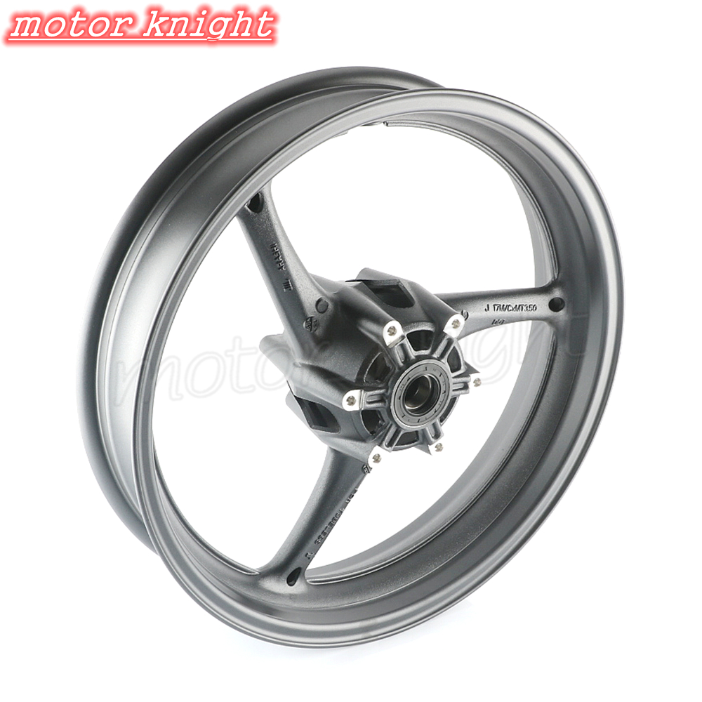 Motorcycle Alloy <font><b>Front</b></font> <font><b>Wheel</b></font> Rim For <font><b>Suzuki</b></font> <font><b>GSXR</b></font> <font><b>600</b></font> 750 2008 2009 2010 K8 & GSXR1000 2009 2010 2011 K9 Matte Black image