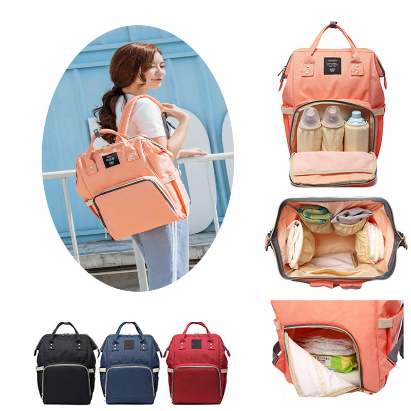 Fashion Mommy Diaper Bag Large Capacity Baby Nappy Travel Backpack Designer Nursing Bag Baby Care Bag for Mother Kid wet bag