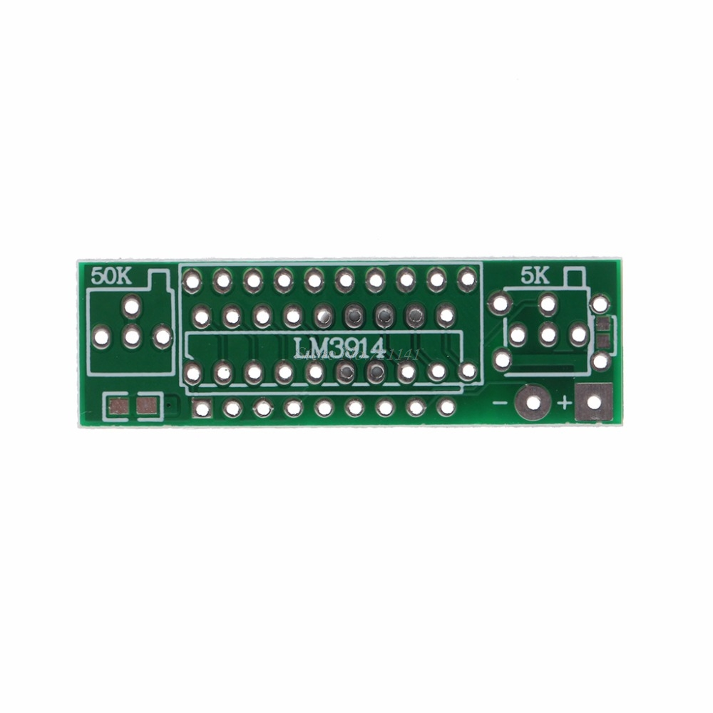 Lm3914 37v Lithium Battery Capacity Indicator Module Tester Led Basic Circuit For Display Board Integrated Circuits In From Electronic Components