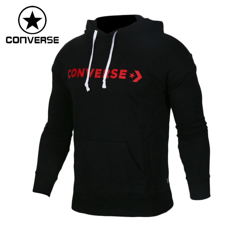 Original New Arrival 2018 Converse Star Chevron Oversized Pullover Women's Pullover Hoodies Sportswear original new arrival 2017 converse men s pullover jerseys sportswear
