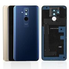 ต้นฉบับสำหรับ Huawei Mate 20 Lite แบตเตอรี่ที่อยู่อาศัยแก้ว + กล้องด้านหลังแบตเตอรี่เปลี่ยนฝาครอบอะไหล่ซ่อมอะไหล่