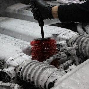Image 4 - Onever Auto Detaillierung Werkzeuge Reinigung Pinsel Auto Rad Pinsel Reifen Felge Reiniger Lange Master Auto Waschen Schwämme Griff Pinsel