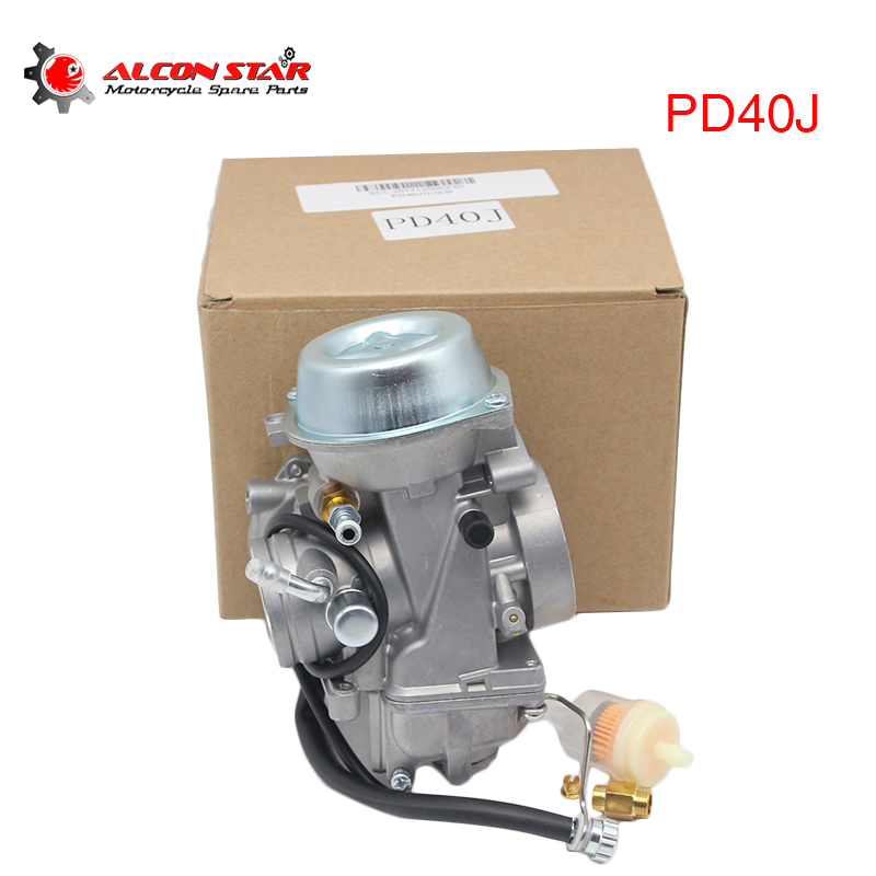 Alconstar Motorcycle Carburetor Assembly Carb PD40J 40mm For Polaris Big Boss Magnum Outlaw Predator Ranger Xplorer