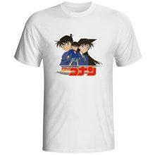 Detective Conan T-shirt Japanese Anime Cartoon Punk Rock Pop T Shirt Fashion Hip Hop Print Casual Women Men Top Tee