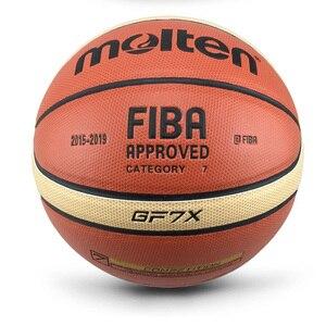 Image 5 - 2018 Mới Đến Ngoài Trời Trong Nhà Size 7/6/5 Da PU Bóng Rổ Bóng Huấn Luyện Rổ Bóng Lưới Bóng Rổ + Bóng kim Basketbol