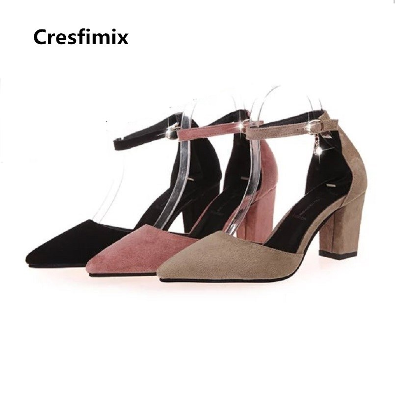 Women Cool Comfortable Spring & Summer High Heel Shoes Lady Sweet Fashion Black Office High Heel Shoes Femmes Hauts Talons E2917Women Cool Comfortable Spring & Summer High Heel Shoes Lady Sweet Fashion Black Office High Heel Shoes Femmes Hauts Talons E2917