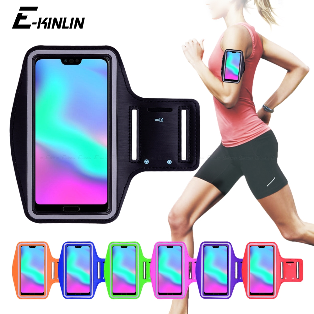 Running Jogging Gym Sports Cover Arm Band Phone Case For HuaWei View Note Honor 10i 20i 20 10 9 9N 8 Lite Pro P Smart Plus 2019Running Jogging Gym Sports Cover Arm Band Phone Case For HuaWei View Note Honor 10i 20i 20 10 9 9N 8 Lite Pro P Smart Plus 2019