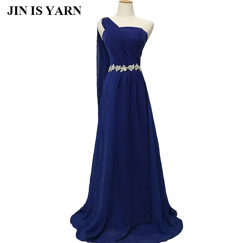Floor-length Chiffon Long   Evening     Dress   Gown 2018 Long Design Formal   evening     dresses   gown wedding party   dress   Shipping