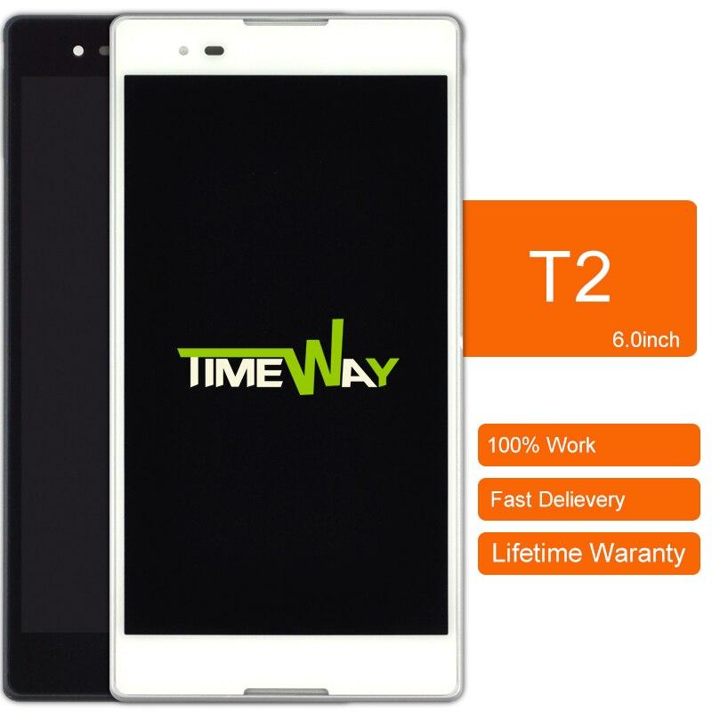 2 unids salelcd pantalla para sony xperia t2 ultra xm50h con pantalla táctil dig