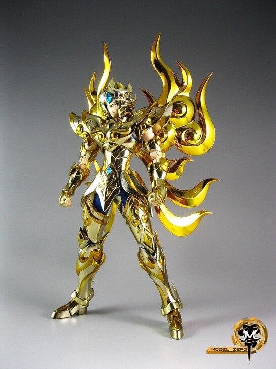 Soul of Gold Aiolia Lion En Stock Bandai Saint Seiya Myth Cloth Ex