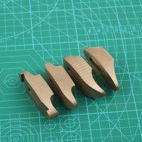 Brass Handguard of DIY knife handle brass Guard 4 size design big Guard