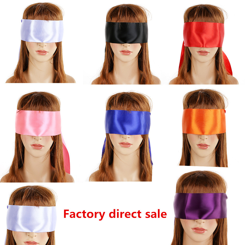 Sex Eye Mask Blindfold SM Bondage Flirting Teasing Erotic Toy Sex Toys For Couple Role Play Head  Accessory Mask