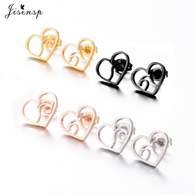 Ocean Heart wave earrings; nature earrings; wave earrings; silver wave jewelry; ocean jewelry_