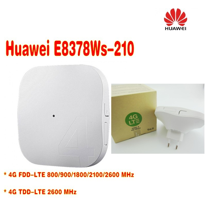 DHL Shipping,Lot Of 100pcs HUAWEI E8378 E8378Ws-210 FDD800/900/1800/2100/2600MHz TDD2600Mhz 4G Routet WIFI