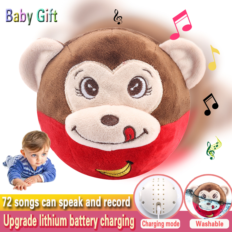 toys for children monkey electric talking Interactive toy stool jumping learning educational toys VIP link Girl toy Rodents electronic monkey robot monkey plush animal toy sound control laughing talking interactive toys for children birthday gifts