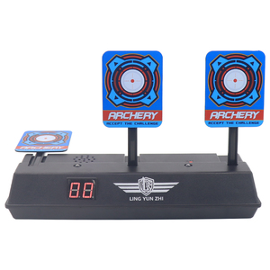 Image 2 - New Arrive Aim Shooting Target Scoring Auto Reset Demountable Electric Target for Orbeez Paintball Shooting Training Accessories