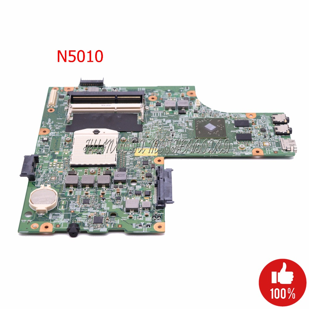 NOKOTION CN-0VX53T 0VX53T VX53T Laptop Motherboard For Dell inspiron N5010 48.4HH01.011 HM57 HD5470 GPU Main board tested
