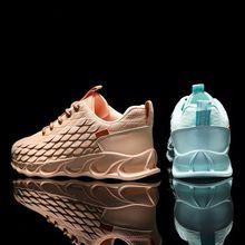 Mens shoes summer breathable sports flying woven mesh net red mens tide blade wild warrior running men