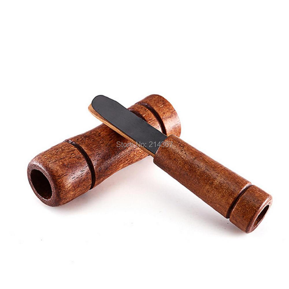 Wood HandMade Duck Calls Hunting Accessories Duck Sound Caller Hunter Whistle Game Calls Hunting Gear Free Ship