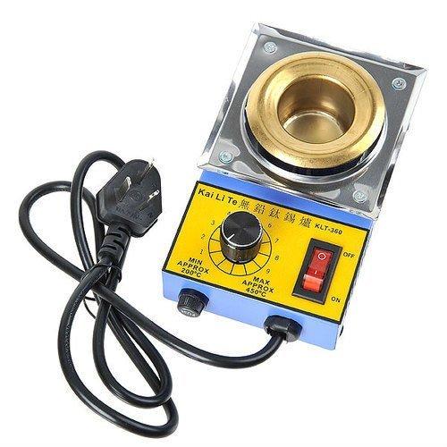 Free Shipping KLT-360 Solder Pot Titanium Alloy Soldering Melting Tin 38mm 100W