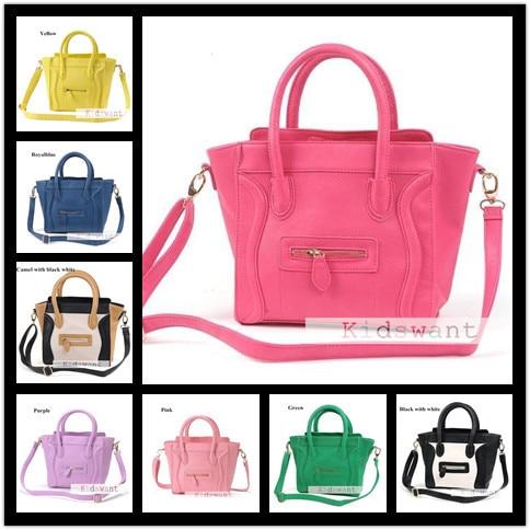 0979de3ce15 Hot 11 Colors Fashion Kids tote bags Women s mini Designer Bags Girls  Shoulder Bag Children Handbag Purse Baby Handbags KW BA053-in Shoulder Bags  from ...