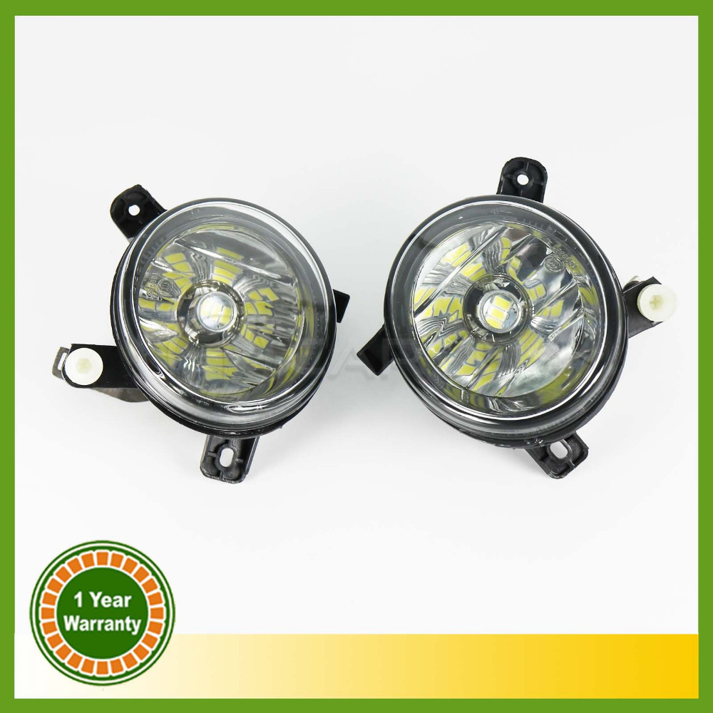 цены  2pcs LED Light Car Styling For Audi A6 S line S6 C6 2009 2010 2011 New LED Fog Light Fog Lamp Left And Right