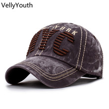 VellyYouth Baseball Caps New Classic NYC Embroidery Sport Cap Outdoor Hat On foot Traveling Baseball Caps For Men Women(China)