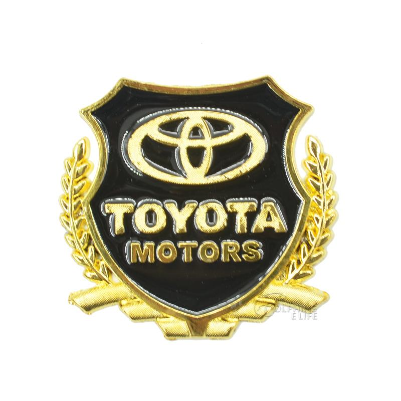 Metal Sign Logo Car Styling Car Sticker 3d Accessories Symbol For