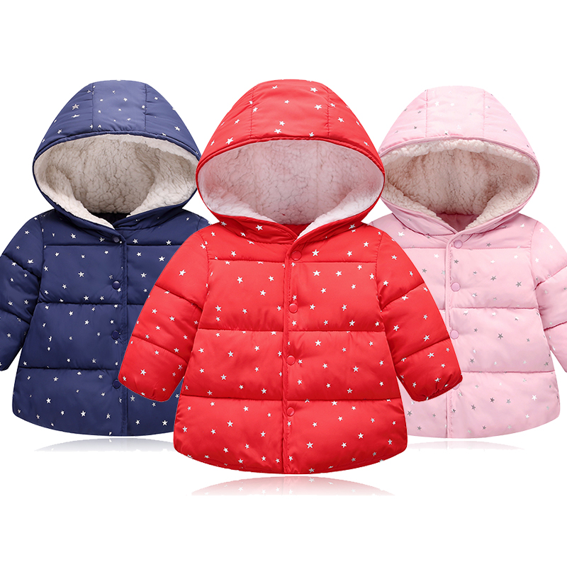 2018 Jacket For Girls Boy Autumn Winter Down Jackets For Girls Kids Warm Hooded Wool Outerwear Coat children's winter jackets 4T xyf8831 girls kids autumn winter down jackets 80