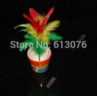 Magic Cane To Flower Middle Size Magic Trick Flower Magicclose Up Magic 2014 New Magic Trick