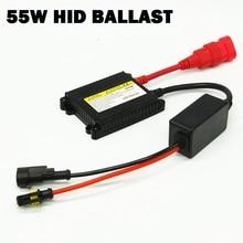 Dianshi 1 шт. 55 Вт AC/DC 12v Ксеноновые блок зажигания электронный балласт для H4 H7 H11 H3 9005 9006 880 H13 HID фара