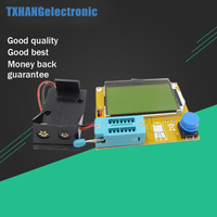 LCR T4 Mega328 M328 Multimeter LCD Backlight Transistor Tester Diode Triode Capacitance ESR Meter 12864 Display