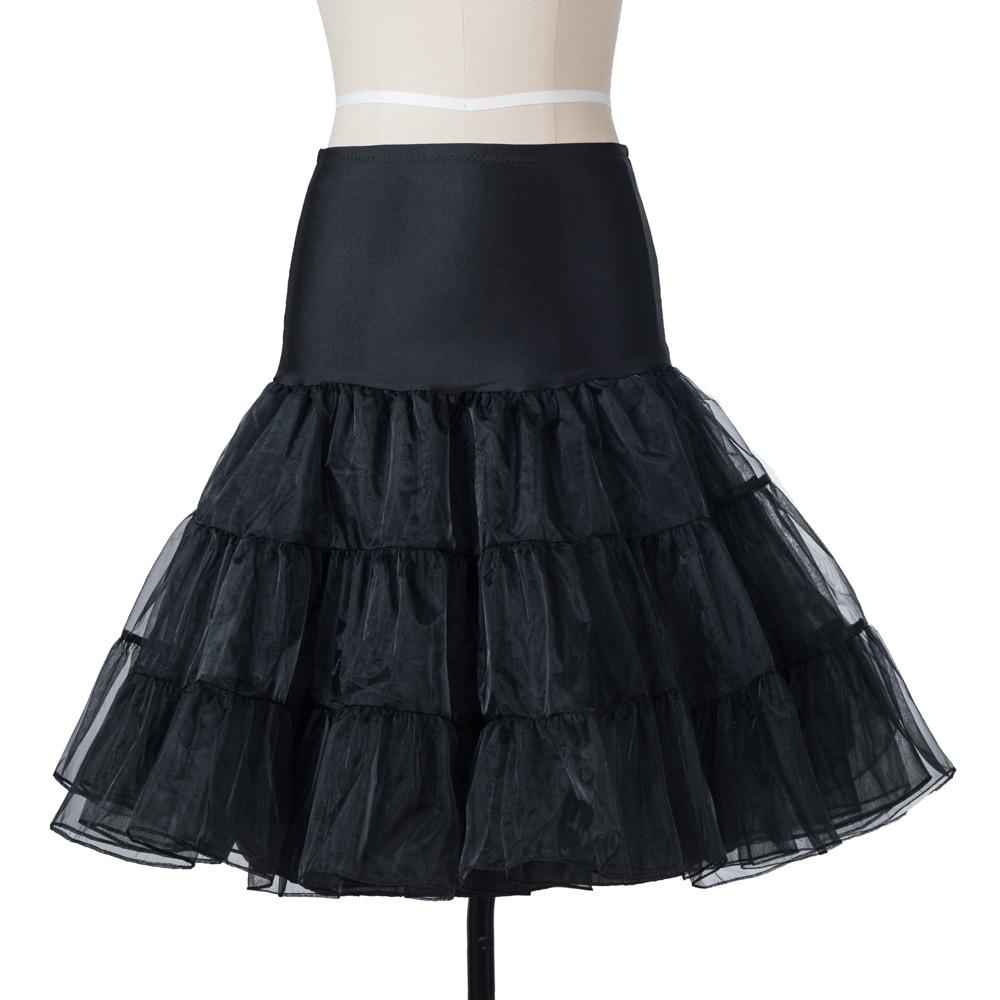 mujeres falda silps oscilacin rockabilly crinolina enaguas de la enagua de pettiskirt mullido para nupcial de