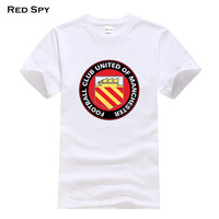 2017 Funny Tee FC United Of Manchester T Shirts Homme Pumba Men Women 100 Cotton Cool