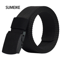 Automatic Buckle Nylon Belt Male Army Tactical Belt Mens Military Waist Canvas Belts Cummerbunds High Quality
