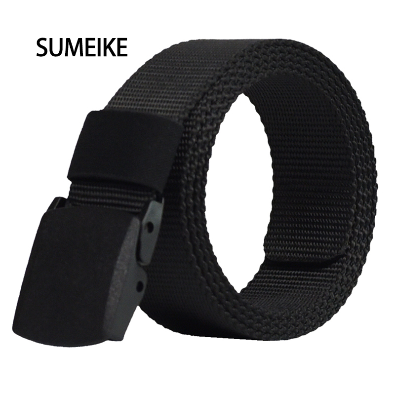 Automatic Buckle Nylon Belt Male Army Tas
