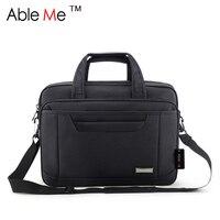 Ableme أكسفورد الرجال حقيبة كبيرة حقائب رجال الأعمال ثيقة المحمولة محمول قدرة كبيرة حمل الحقائب الكتف للذكور