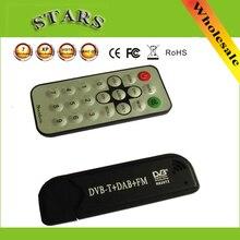 USB Tivi Thông Minh Dính DVB T & RTL SDR Truyền Hình Kỹ Thuật Số RTL2832U & R820T2 Bắt Sóng DVB T + FM + DAB Với ăng Ten Cho Android PC