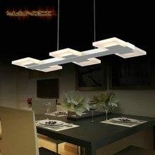 640 ММ/30 Вт LED Люстра Свет Современный Минималистский Лампы Гостиная Столовая Подвесной Светильник 6 Глава Освещение AC85-265V свет