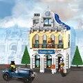 Enlighten 1127 Sunshine Hotel Deluxe Villa Suite Кирпичи Строительные Блоки Игрушки Для Детей Совместимость лепин Создатель