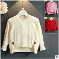 Girls wild pure color tide sets of wool 2016 Winter new fashion girls sweater