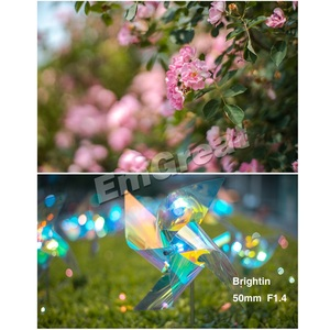 Image 5 - Brightin כוכב 50mm F1.4 ראש עדשת גדול צמצם ידני עדשה עבור Sony e mount עבור Fuji X  הר M4/3 הר ראי מצלמות