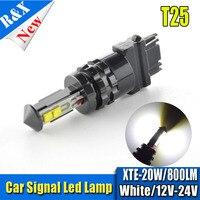 1x20 Вт высокое качество 3157 3156 супер 4 SMD ХТЕ LED белый белеют P27W T25 автомобилей лампочки P27 /7 Вт Авто источник света лампы