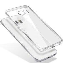 Capa de celular tpu macia e ultrafina, para samsung galaxy s8 s9 plus s6 s7 edge j1 j3 j5 j7 a3 a5 a7 2016 2017 capa coque