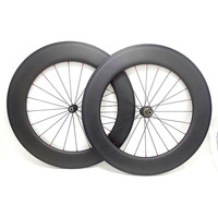 Carbon wielen 88mm wiel 23mm carbon clincher 700c NOVATEC 291/482 hubs 3K UD matte glossy road bicyelc wielen 20/24