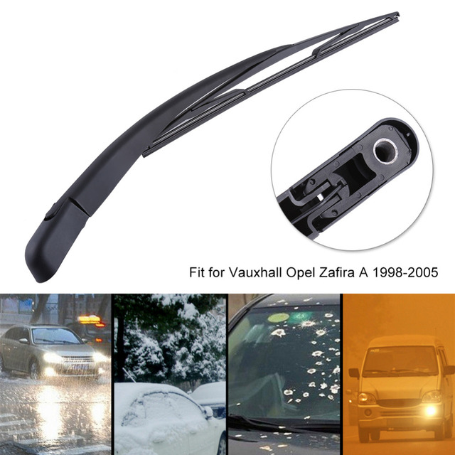 Car Rear Window Windshield Windscreen Wiper Arm + Blade Complete Replacement Set For Vauxhall Opel Zafira A 1998 1999 2000-2005