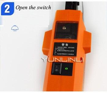 8-58mm Kablo Çemberleme Makinesi Otomatik Fiber Optik Çemberleme Makinesi Asılı Hat El Yüksek Irtifa Hattı Bağlama LYL-03